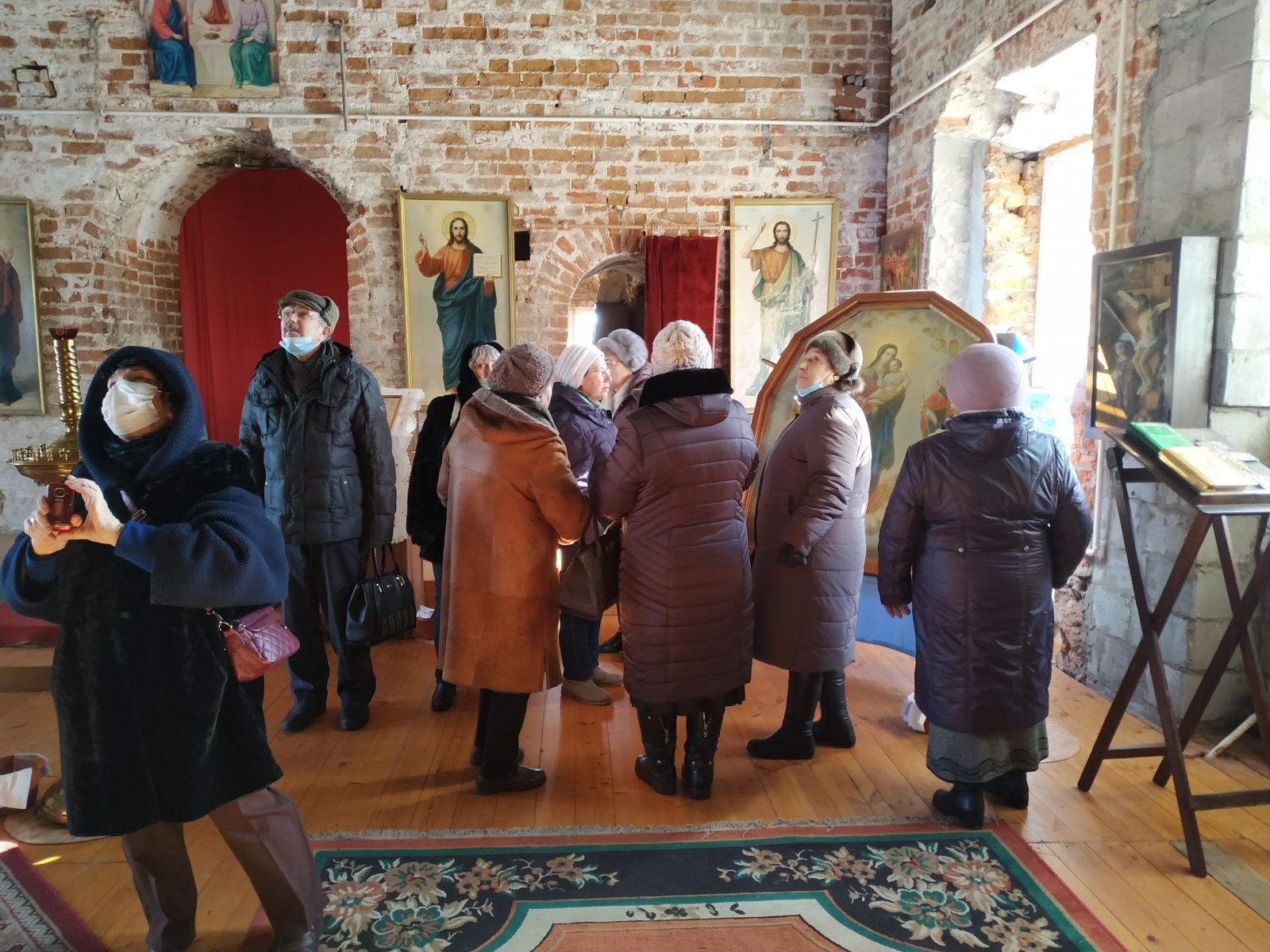 Активное долголетие - экускурсия в храм Рождества Пресвятой Богородицы
