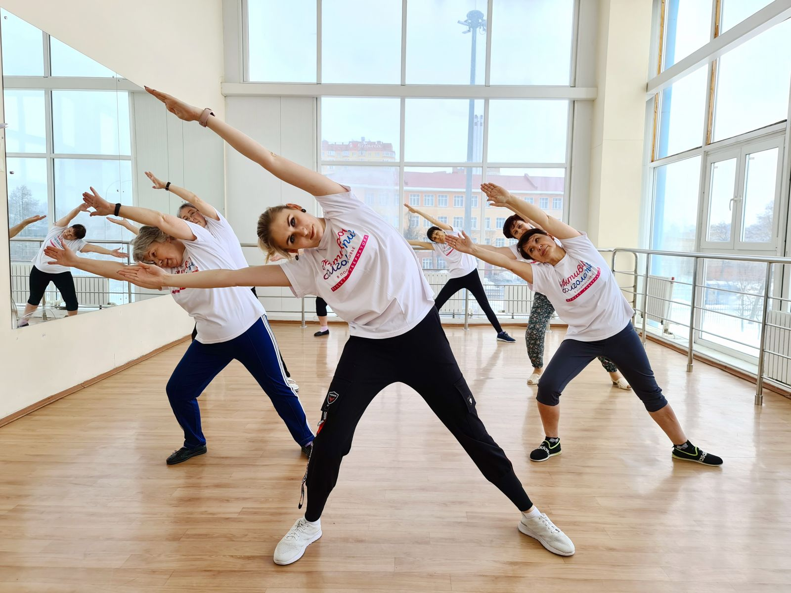 Активное долголетие - танцы в Журавушке