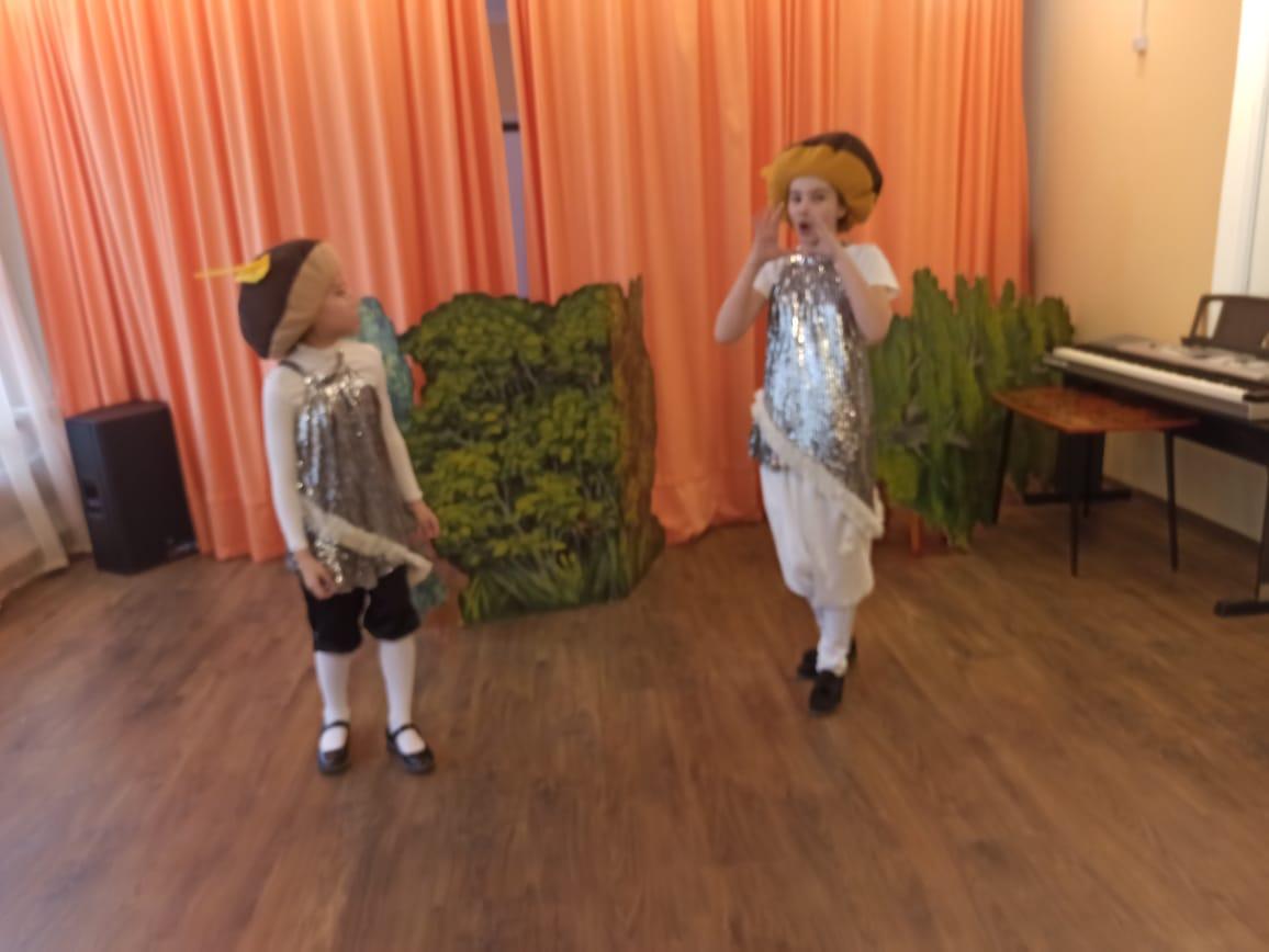 Благотворительный спектакль для детей с ОВЗ
