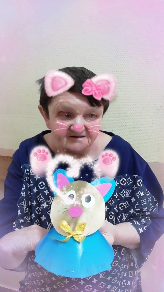 День кошек в Коробовском интернате в рамках проекта «Активное долголетие»