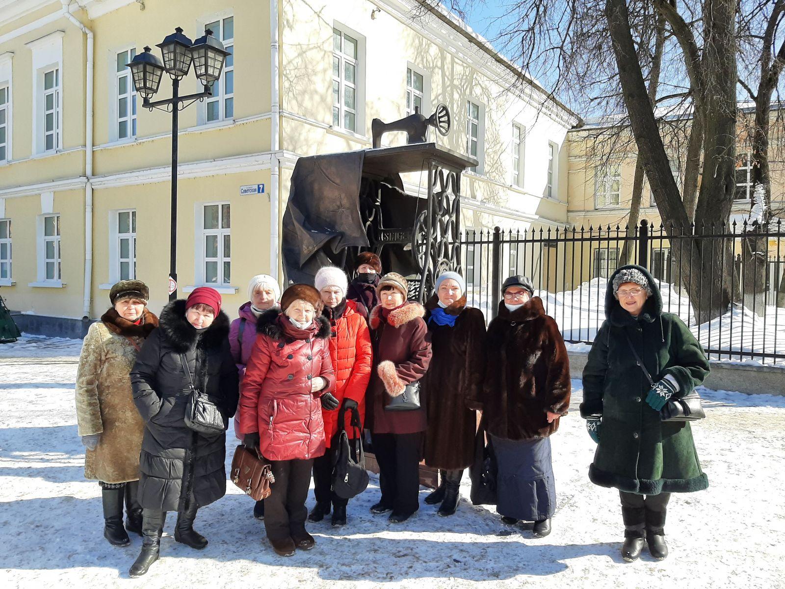 Экскурсии в рамках проекта Активное долголетие в Подольске