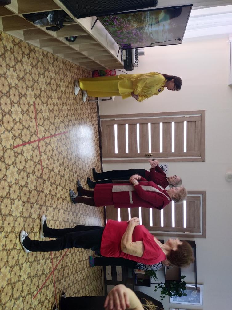 Гимнастика Цигун в Пушкинском центре