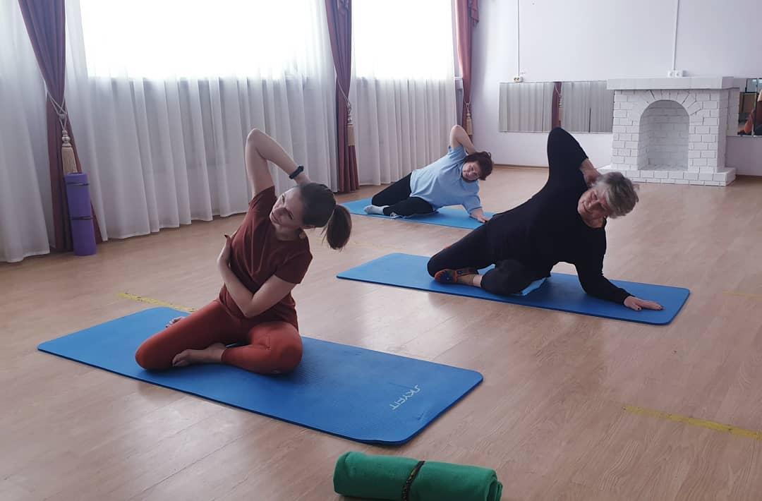 Открытый мастер-класс «Пилатес. Расслабление фасции или работа с мышечными цепями»