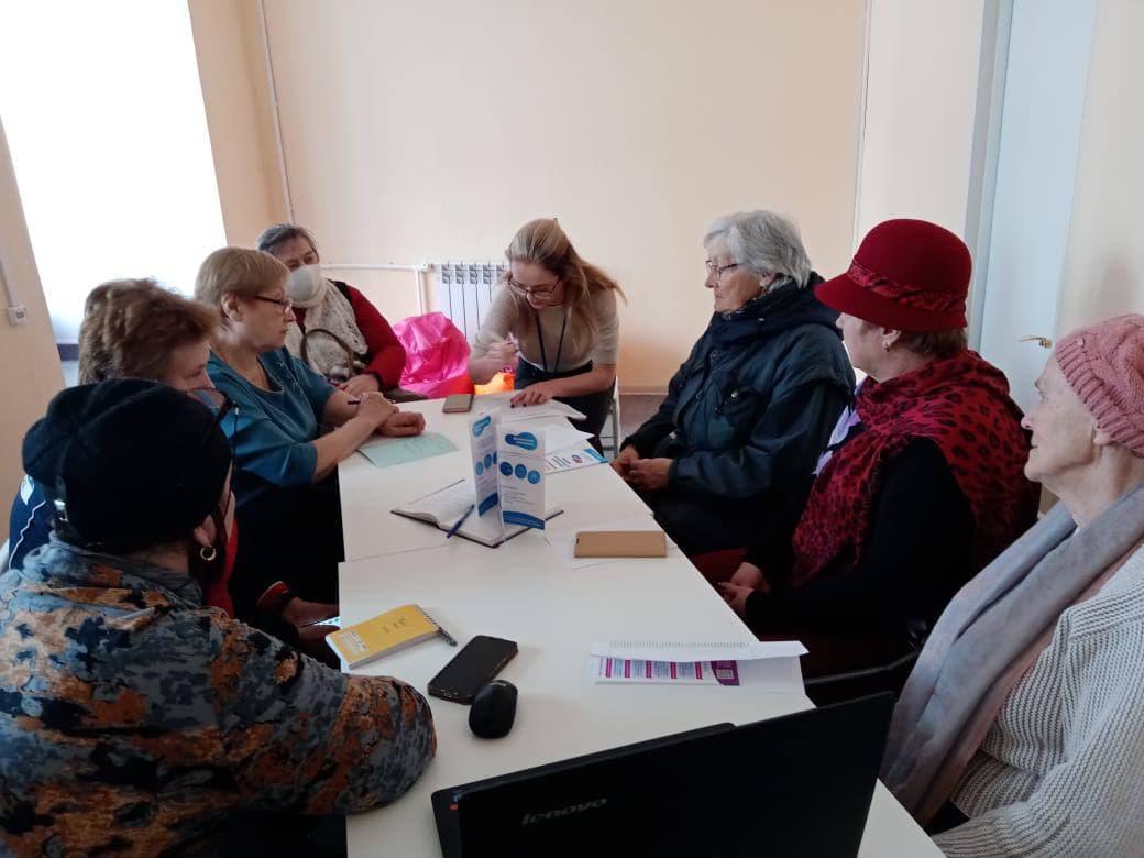 Первые занятия успешно прошли в клубе «Активное долголетие» в Тучково