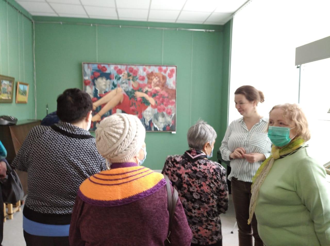 Посещение Щелковской художественной галереи