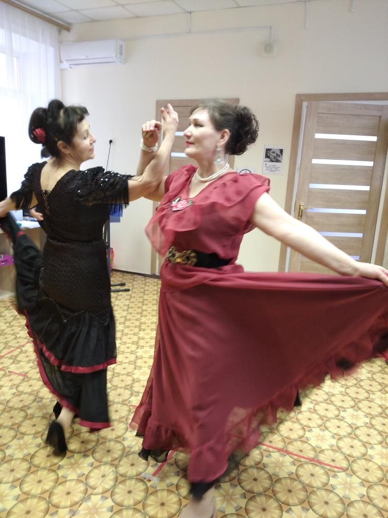 Праздничный концерт в клубе «Активное долголетие» (г. Пушкино)