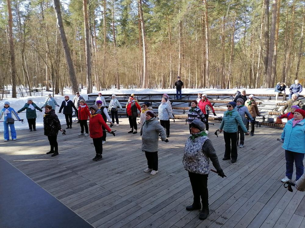 Соревнования по скандинавской ходьбе в Одинцовском городском округе