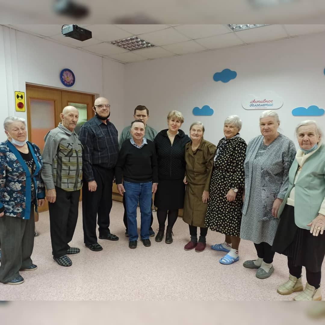 Творческая встреча с участницей программы Активное долголетие Шароватовой Ольгой Борисовной