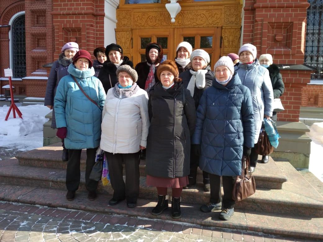 В г.о. Пушкинский возобновились туристические поездки в рамках программы «Активное долголетие».