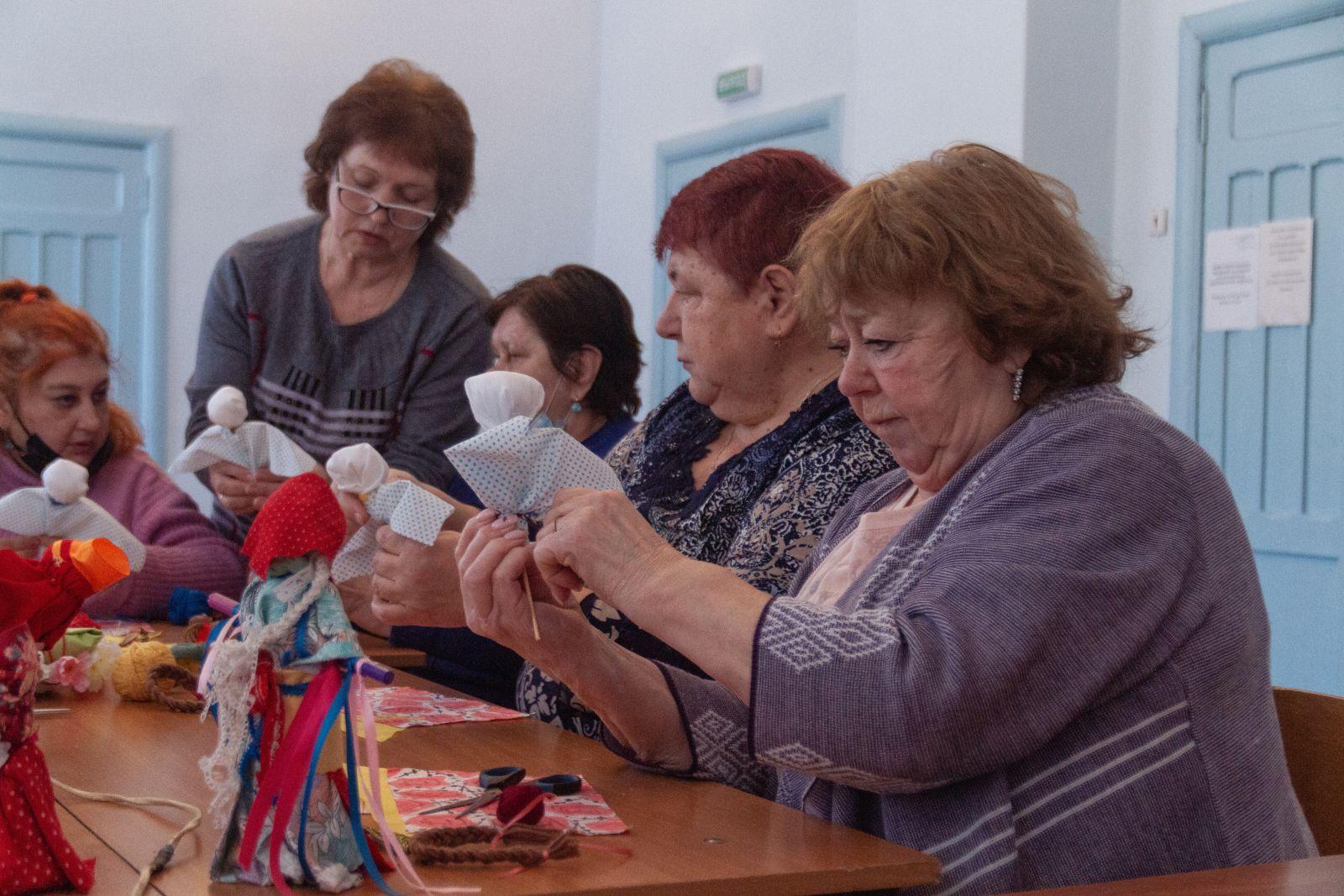 В городском округе Кашира возобновлены творческие занятия в рамках проекта Губернатора Московской области Активное долголетие в Подмосковье
