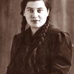 Валентина Копосова перед войной